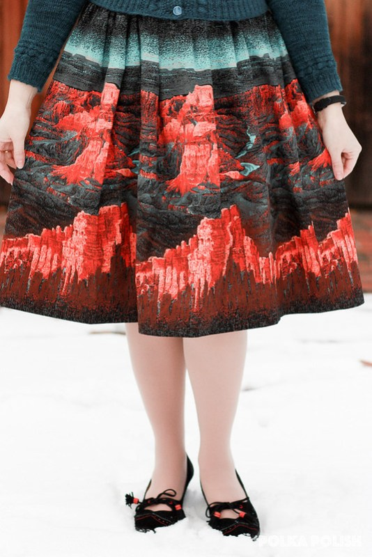 Millworth's Grand Canyon skirt