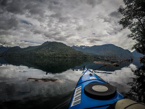 Kayaking on Baker Lake-89