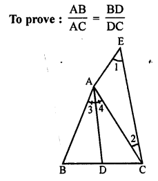 RS Aggarwal Class 10 Solutions Chapter 4 Triangles Test