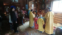 2018 06 24 Liturgy. Church of the Kazan icon of the Mother of God. Orthodox