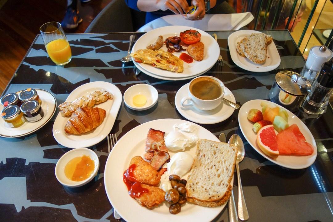 Breakfast buffer at Park Hyatt Melbourne