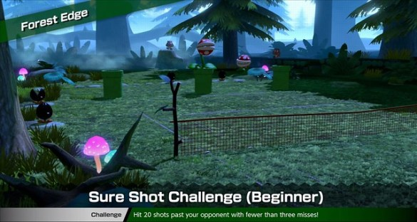 Mario Tennis Aces - Forest Edge