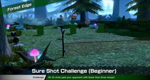 Mario Tennis Aces - Forest Edge