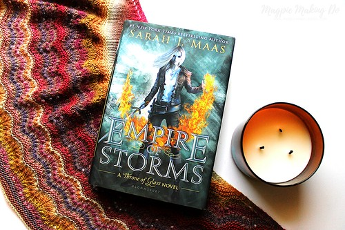 Empire of Storms full flatlay