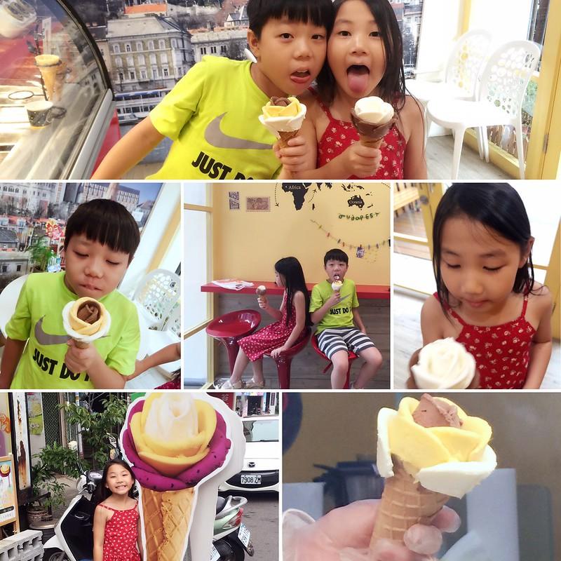 大雅。布達佩斯冰淇淋