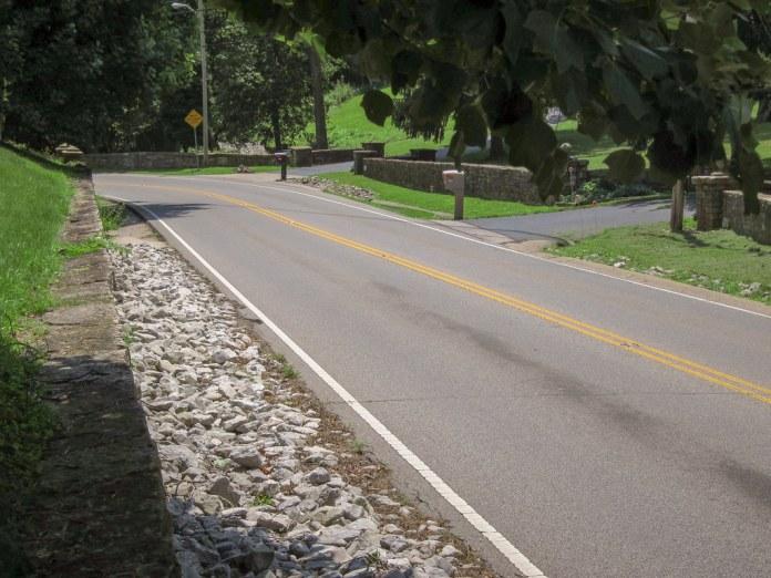 Michigan Road SB at Fairmount House