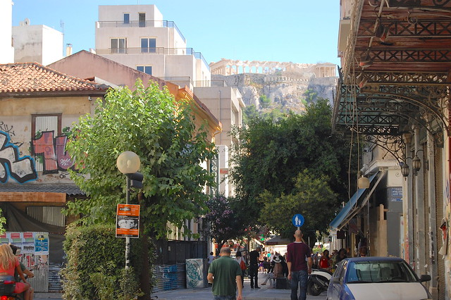 Acropolis on the hill