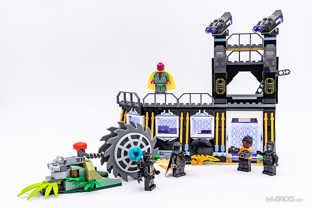 REVIEW LEGO Marvel 76103 Corvus Glaive Thresher Attack 7