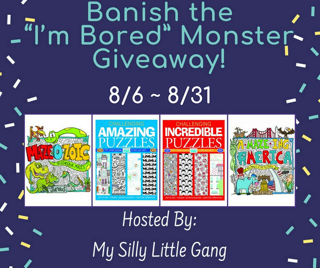 """Banish the """"I'm Bored"""" Monster Giveaway"""