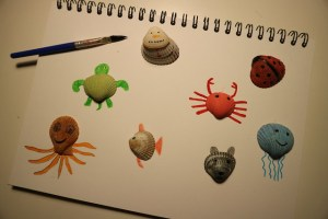 DIY: knutselen met schelpen