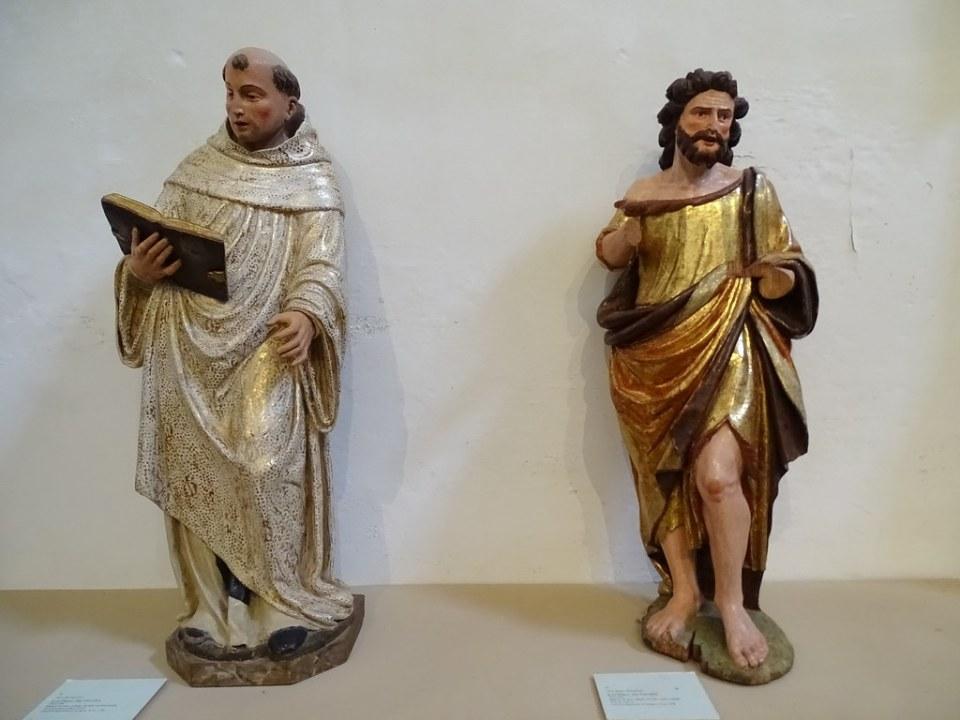 Imagen religiosa museo escultura del Real Monasterio de Santa Maria de Veruela Zaragoza 03