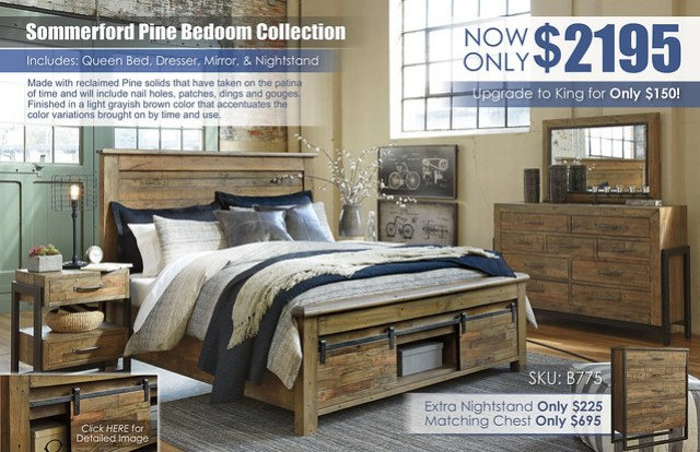 Sommerford Bedroom Collection ChestInsert B775-31-36-78-76S-99S-92-Q739_KU