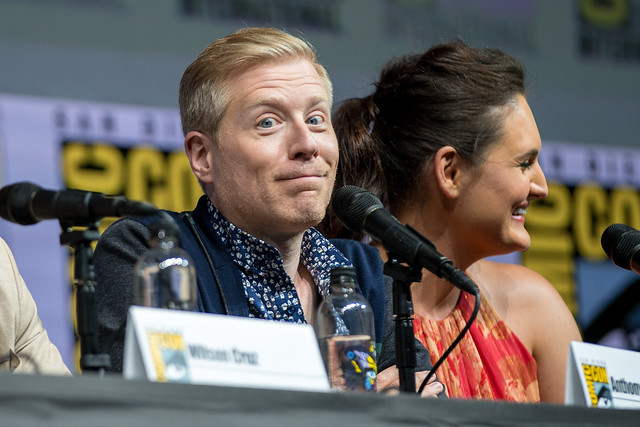 Anthony Rapp and Mary Chieffo