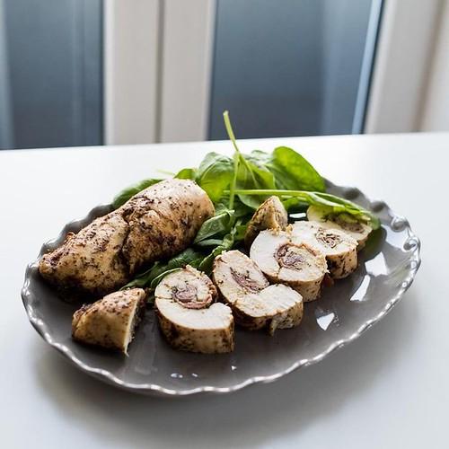 Keto Pesto Chicken Roulade Recipe
