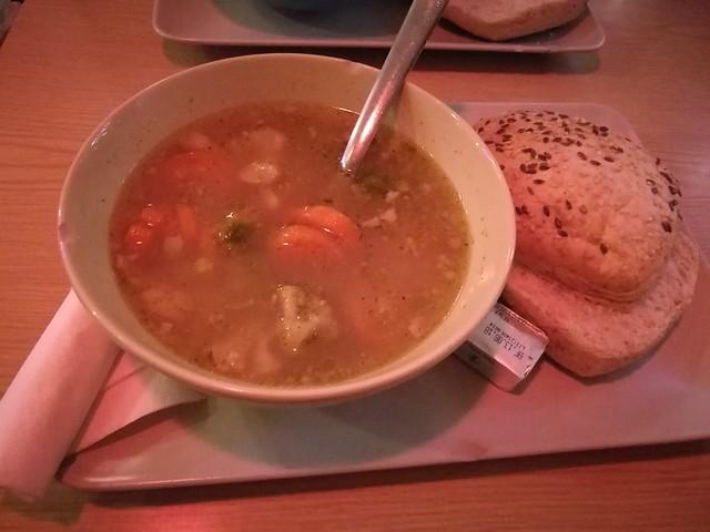 Lamb soup in Babalu