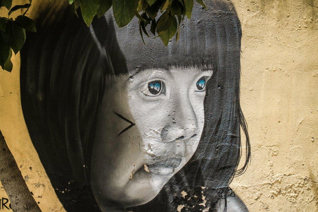 Street art LX Factory, Lisbon