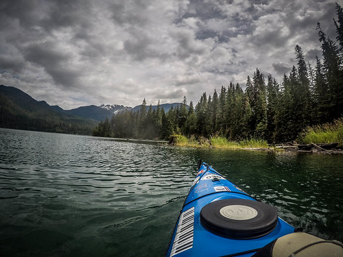 Kayaking on Baker Lake-129