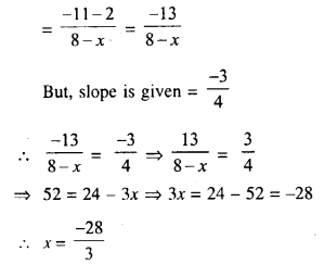 Selina Concise Mathematics Class 10 ICSE Solutions Chapter 14 Equation of a Line Ex 14B 12