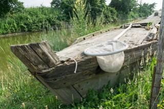 Altes Boot zum Aalfang