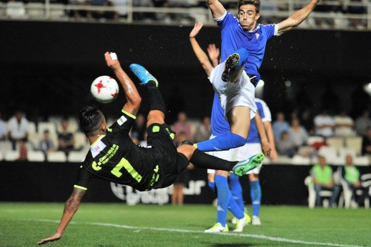 Cartagena 3-1 San Fernando (jornada 9, 15-10-17)