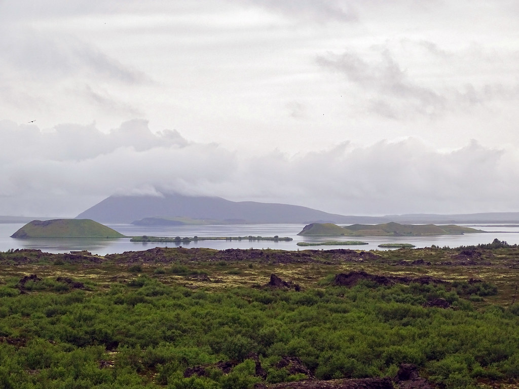 Lago Myvatn Skutustadagigar pseudo crateres Islandia 05