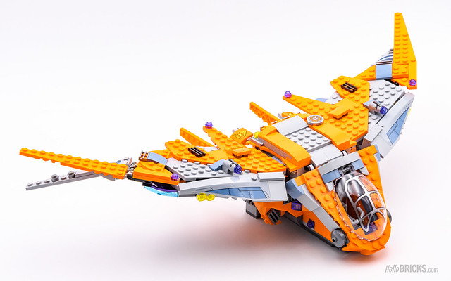 REVIEW LEGO Marvel 76107 Thanos Ultimate Battle 08