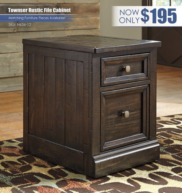 Townser Rustic File Cabinet_H636-12