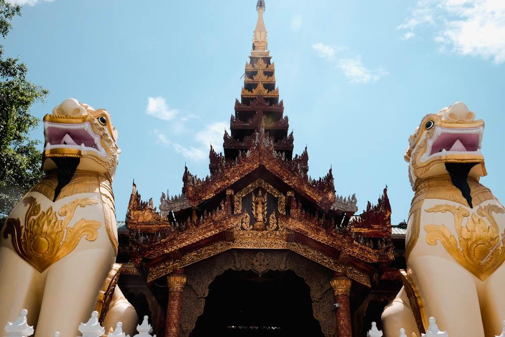 Shwedagon Pagoda Yangon Attraction-19