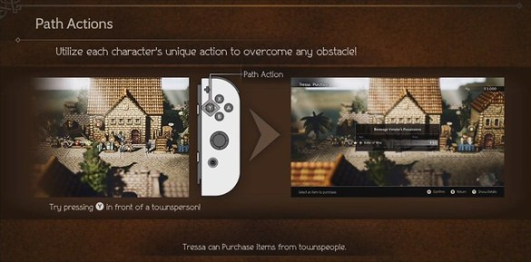 Octopath Traveler - Tressa Merchant Trading
