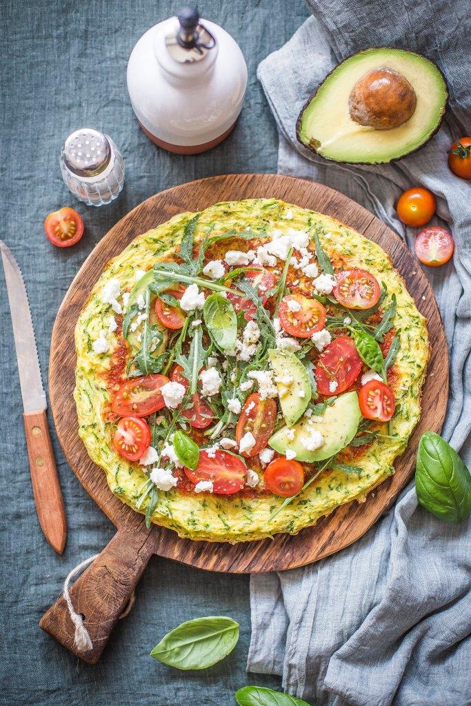 Pizza di zucchine_