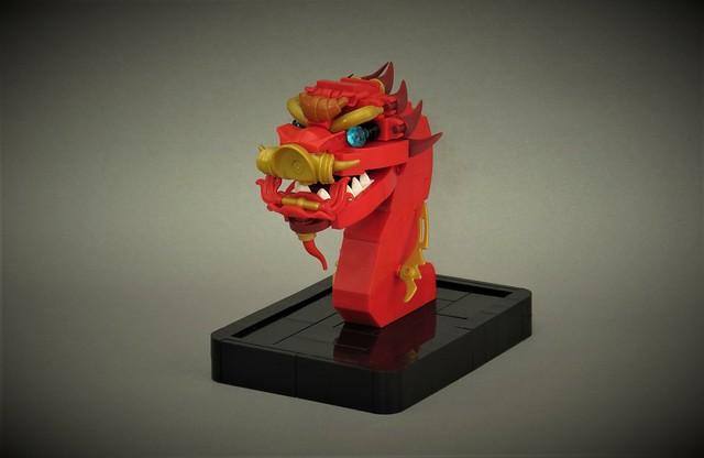 LEGO Dragon chinois