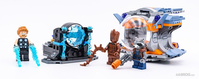 REVIEW LEGO Marvel 76102 Thor's Weapon Quest 8