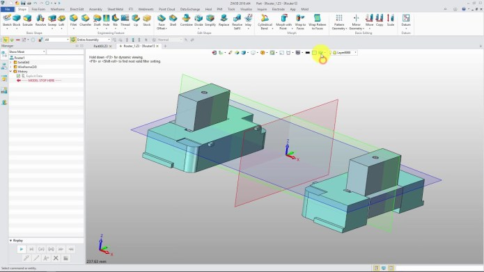 Working with ZWCAD ZW3D 2018 SP2 v22.10 full