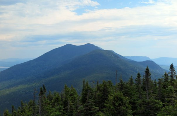 Cranberry Peak View Bigelow-Range