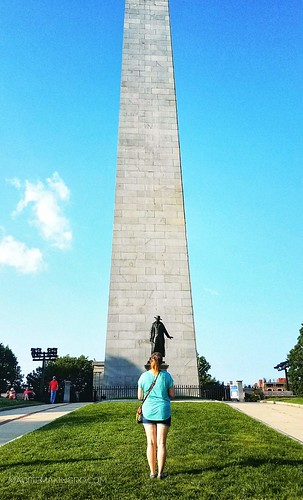 Bunker hill looking up
