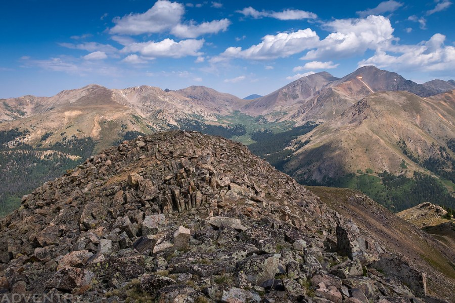 Morgan Peak Summit View