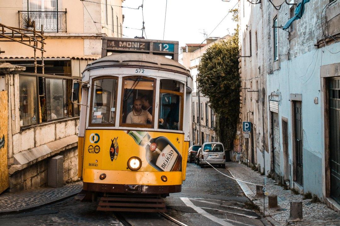 Tram 12, Lisbona