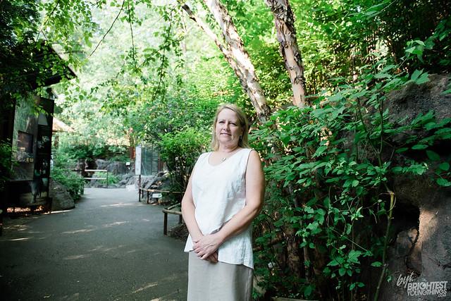 Suzan Murray at National Zoo