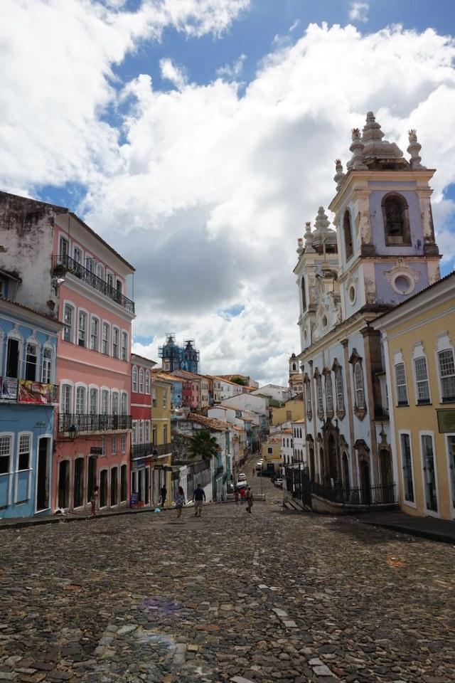 Street in Salvador, Bahia, Brazil