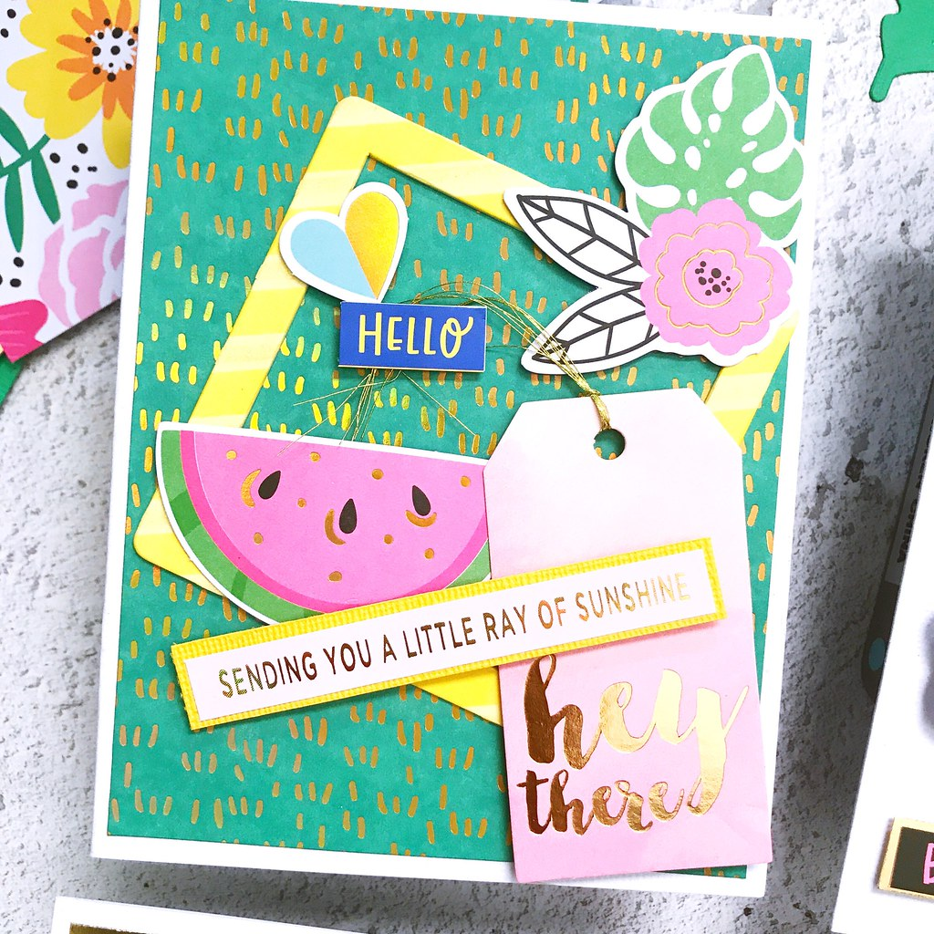 Spellbinders | August Card Kit of the Month | Rubeena Ianigro 05