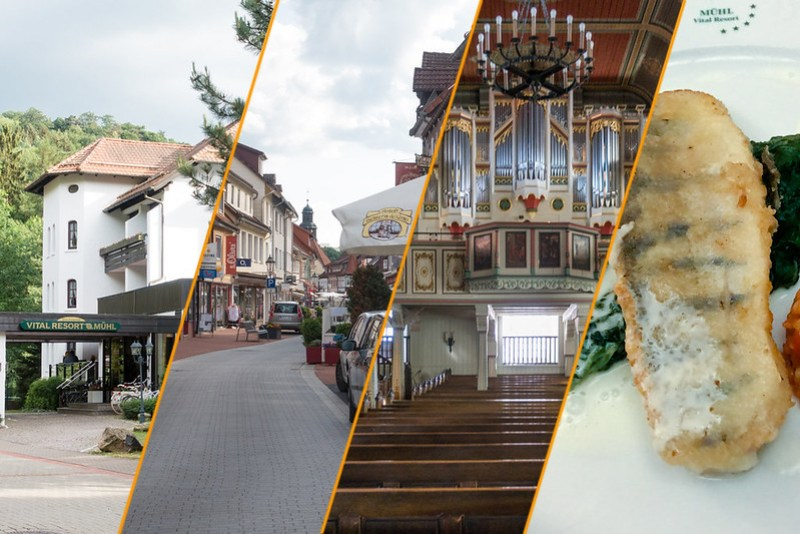 Collage Harz, Tag 1