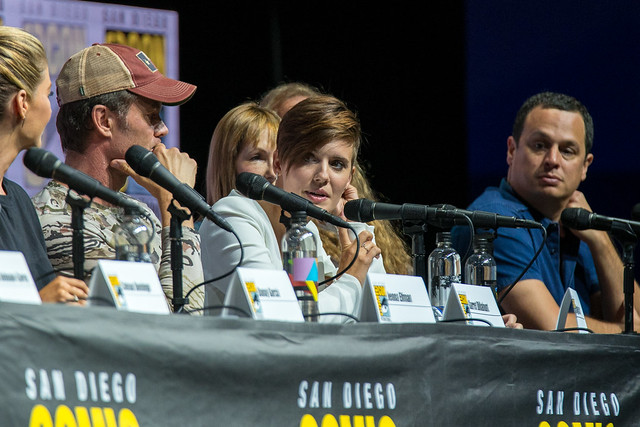 Jenna Elfman, Garret Dillahunt, Maggie Grace and Dave Alpert