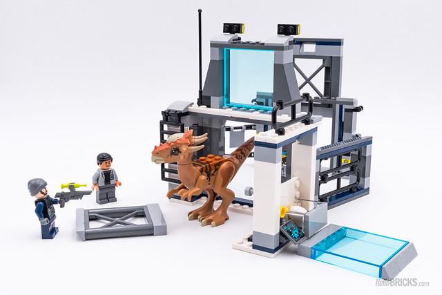 REVIEW LEGO 75927 Stygimoloch Breakout