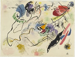 Wassily Kandinsky, Watercolor No. 14 (Aquarell No. 14) (1913)