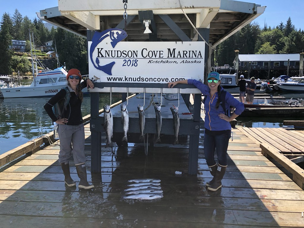 Knudson Cove catch of the day
