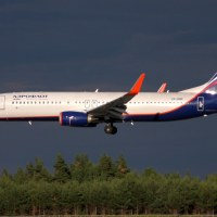 Aeroflot VP-BNP, OSL ENGM Gardermoen