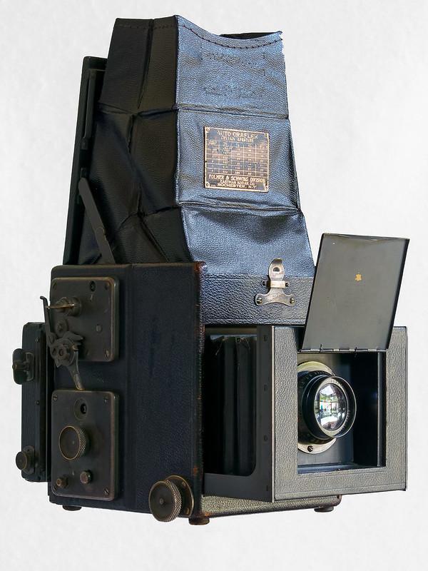 Auto Graflex Single Lens Reflex camera