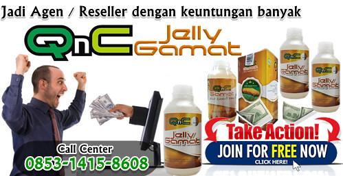 Cara Daftar Jadi Agen QnC Jelly Gamat