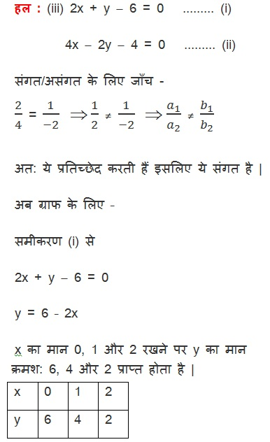 NCERT Solutions for class 10 Maths Chapter 3 Exercise 3.2 in Hindi Medium