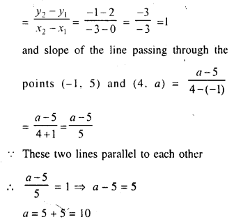Selina Concise Mathematics Class 10 ICSE Solutions Chapter 14 Equation of a Line Ex 14B 6